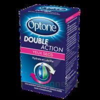 Optone Double Action Solution Oculaire Yeux Secs Fl/10ml à AUCAMVILLE