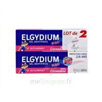 Elgydium Kids Protection Caries Gel Dentifrice Grenadine 2-6ans 2 T/50ml à AUCAMVILLE