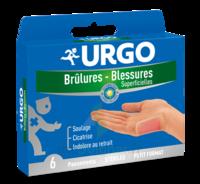 Urgo Brulures-blessures Petit Format X 6 à AUCAMVILLE