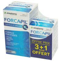 Forcapil Gélules croissance vitalité cheveux ongles B/180+60 à AUCAMVILLE