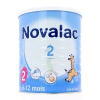 Novalac 2 Lait En Poudre 2ème âge B/800g* à AUCAMVILLE