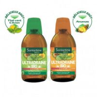 Ultradraine Bio Solution buvable Thé vert citron Fl/500ml à AUCAMVILLE
