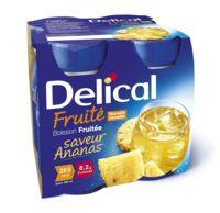 Delical Boisson Fruitee Nutriment Ananas 4bouteilles/200ml à AUCAMVILLE
