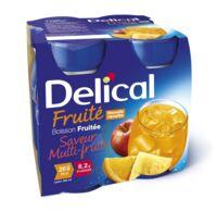 Delical Boisson Fruitee Nutriment Multi Fruits 4bouteilles/200ml à AUCAMVILLE