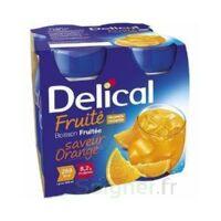 Delical Boisson Fruitee Nutriment Orange 4bouteilles/200ml à AUCAMVILLE