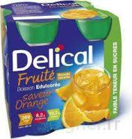 Delical Boisson Fruitee Nutriment édulcoré Orange 4bouteilles/200ml à AUCAMVILLE