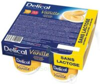 Delical Creme Dessert Hp Hc Sans Lactose, Pot 200 G X 4 à AUCAMVILLE