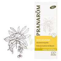 PRANAROM Huile végétale bio Macadamia 50ml à AUCAMVILLE