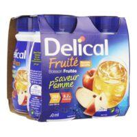 Delical Boisson Fruitee Nutriment Pomme 4bouteilles/200ml à AUCAMVILLE
