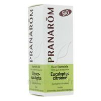 Huile Essentielle Eucalyptus Citronne Bio Pranarom 10 Ml à AUCAMVILLE