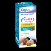 Quies Bi-pack 2 Sprays Buccal Et Nasale Anti-ronflement à AUCAMVILLE