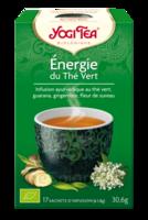 Yogi Tea Thé Energie Du Thé Vert Bio 17 Sachets/1,8g à AUCAMVILLE