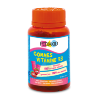 Pédiakid Gomme Ourson Vitamine D3 Fraise B/60 à AUCAMVILLE