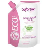 Saforelle Solution Soin Lavant Doux Eco-recharge/400ml à AUCAMVILLE
