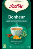 Yogi Tea Tisane Ayurvédique Bonheur Bio 17 Sachets/1,8g à AUCAMVILLE