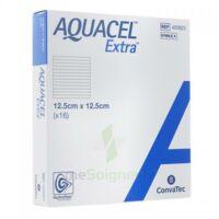 Aquacel Extra Pansement Hydrofiber Stérile 12,5x12,5cm B/16 à AUCAMVILLE