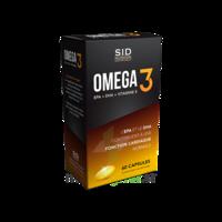 Sid Nutrition Santé Tonique Oméga 3 Caps B/60 à AUCAMVILLE
