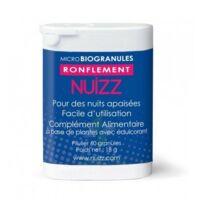 Nuizz Ronflement Granules Microbio Ronflement Obstruction Voies Respiratoires B/60 à AUCAMVILLE